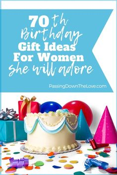 The Best Birthday Gift Ideas for Women. Meaningful gifts for Grandma's Birthday, these are presents for Grandmothers they will cherish! Birthday Gifts For Grandma, 70th Birthday Parties, Birthday Party Decorations, Girl Birthday, Grandmother Birthday, Birthday Ideas, Birthday Crafts, Grandmother Gifts, Grandmothers