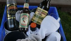 How to store glass bottles & wine glasses on a boat? A quick DIY project from TheBoatGalley.com