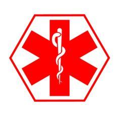ems medic symbol rescue star of life emergency doctor logotype vinyl rh pinterest co uk EMS Logo Clip Art OES Star Clip Art
