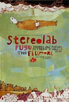 vintage music stereolab posters - Google Search