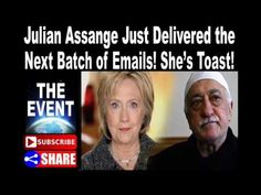 Wow: Julian Assange Just Delivered the Next Batch of Emails! She's Toast! - YouTube