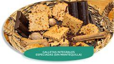 LOS TELARES DE SIL: GALLETAS INTEGRALES ESPECIADAS {SIN MANTEQUILLA}