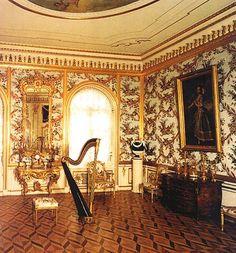 peterhof palace interior/images | The Great Peterhof Palace. The Partridge Reception Room - Peterhof ...