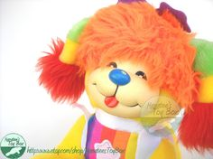 My Fav.... My aunt Caron gave me this in the 80's. It was a great Christmas!!! Puppy Brite Plush: Rainbow Brite's Dog 80s Toy