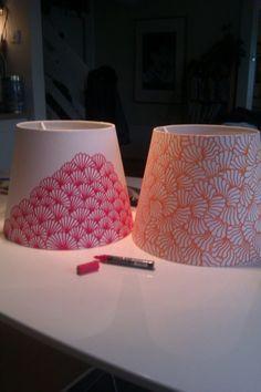 tuto pour fabriquer un abat jour en tissu propre d co et bricolage pinterest abat jour. Black Bedroom Furniture Sets. Home Design Ideas