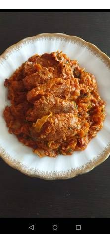 Varză călită cu piept de rață Macaroni And Cheese, Pork, Meat, Ethnic Recipes, Kale Stir Fry, Mac And Cheese, Pork Chops