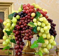 Vineyard Tales, a beautiful concord grape arrangement #AmericasTable
