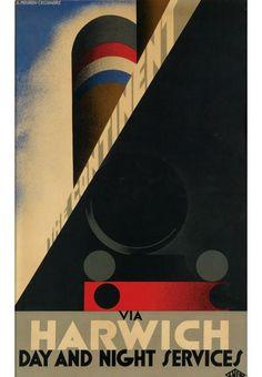 Art Deco Poster Art deco poster auction set