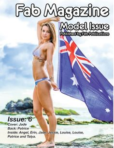 Fab Magazine Model Issue 6 Gorgeous models from the Mid North Coast of New South Wales Australia