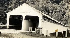 Old covered bridge over Cheat River in Dawson Camp, West Virginia. On US Rt. 50.    Bridge was built in 1835