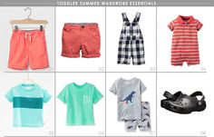Toddler summer wardrobe essentials | Hellobee