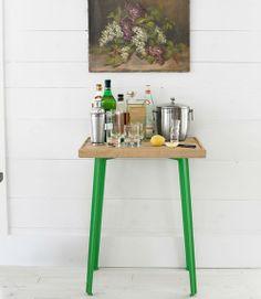DIY Idea: Colourful Side Table