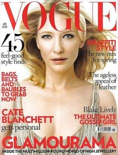Vogue UK January 2009 - Cate Blanchett.jpg - mylusciouslife.com - Vogue magazine covers
