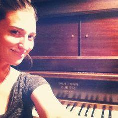 Sara Bareilles & Her Piano