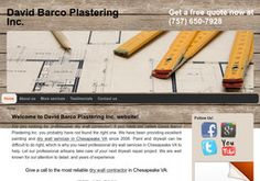 New Plastering Services added to CMac.ws. David Barco Plastering Inc ...