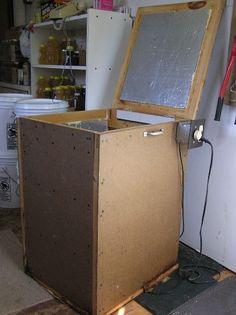 Lots of DIY Beekeeping equipment. #diybeekeeper