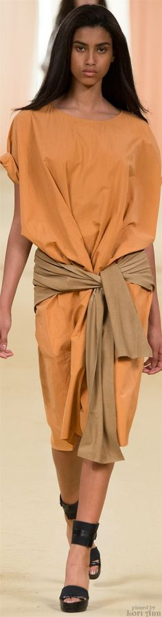 Hermès Spring 2015 RTW, really simple but looks amazing #sewing #fashion