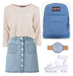 """Sin título #211"" by jem199914 on Polyvore featuring moda, Miss Selfridge, JanSport y Skagen"