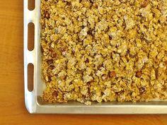Creme de Avelãs: Granola de Aveia com Frutos Secos (Saudável, Sem Glúten, Sem Lactose, Sem Açúcar Adicionado)