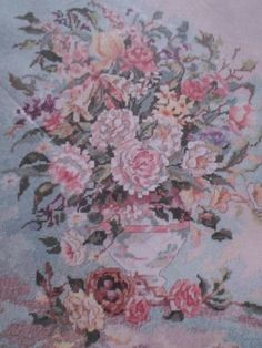 Candamar-STILL-LIFE-BOUQUET-Kit-Floral-Tapestry-Needlepoint-30776-Wyatt-NEW-1992