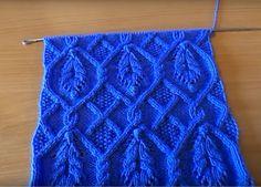 Lace Knitting Patterns, Knitting Charts, Easy Knitting, Knitting Stitches, Stitch Patterns, Crotchet Stitches, Knit Crochet, Embroidery Kits, Lana