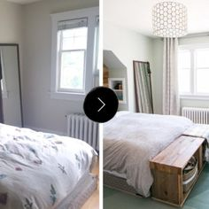 Before & After: A Stylish Bedroom on a Budget in Toronto