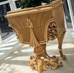 Classic Furniture, Art Furniture, Luxury Furniture, Furniture Design, Console Furniture, Luxury Home Decor, Luxury Interior Design, Modern Dressing Table Designs, Art Nouveau Pattern