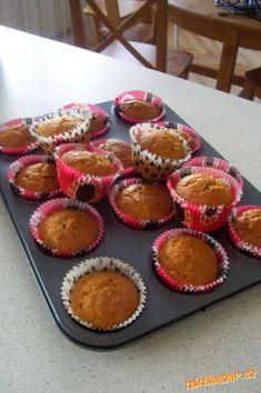*Výtečné mrkvové muffiny*...nadýchané, měkoučké Cup Cakes, Carrots, Muffin, Healthy, Breakfast, Sweet, Desserts, Food, Morning Coffee