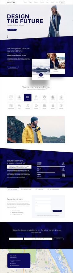 Halcyon is beautifully design premium #PSD template for stunning #company #website with 30+ multipurpose homepage layouts and 52 organized PSD pages download now➩ https://themeforest.net/item/halcyon-multipurpose-modern-website-psd-template/17535264?ref=Datasata