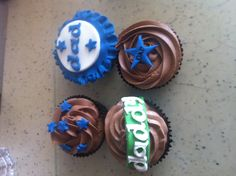 Father's Day cupcake