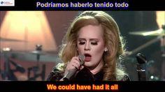 Rolling In The Deep - Adele (SUBTITULADO EN INGLES ESPAÑOL LYRICS SUB HD )