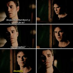 Tvd 8x12 - Has anyone ever earned their way out? I wouldn't want to give you false hope.