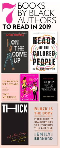 Books by Black Authors to Add to Your Shelves in 2019 - Quotes Book Club Books, Book Nerd, Good Books, My Books, Teen Books, Books By Black Authors, Black Books, Books For Black Girls, Books To Read For Women