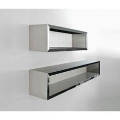 Shelving Design For Beautiful House: Wall Mounted Steel Shelving Design ~ lanewstalk.com Home decor Inspiration