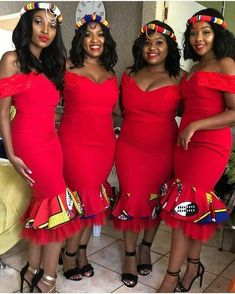 Vol Wanna Be Chicy? Try This Top 50 AsoEbiBella & EB Fabulous Look Style- You can examine all tattoo models and print them out. African Bridesmaid Dresses, African Wedding Attire, African Print Dresses, African Print Fashion, African Attire, African Dress, African Wear, Xhosa Attire, African Weddings