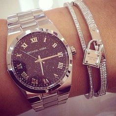 Micheal Kors watch & bracelet