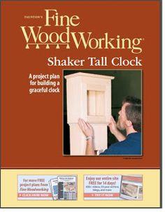 Ah! E se falando em madeira...: FW 13 - relogio, projeto gratuito no blog