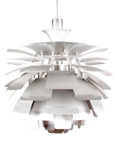 Artichoke Lamp (Silver Lamp)