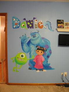 Brand new mural! First art I have done in a while that wasn't for the purposes of teaching :D I wish I could do murals for a living.