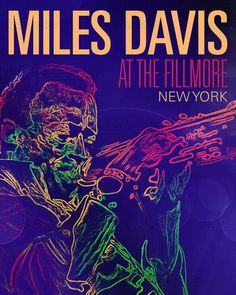 Miles Davis Poster design contest on Creative Allies Jazz Poster, Blue Poster, Rhythm And Blues, Jazz Blues, Rock Posters, Concert Posters, The Filmore, Vintage Music Posters, Jazz Artists