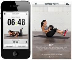 My absolute favorite fitness app (and it's free): Nike Training Club. As blogged about in more detail on my blog.