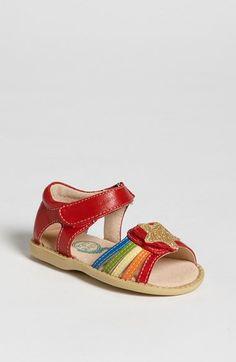 Looks like Rainbow Bright Shoes!! Livie & Luca 'Nova' Sandal (Baby, Walker & Toddler) | Nordstrom