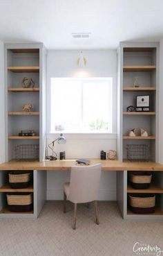 35 Ideas For Home Office Ideas For Men Decor Shelves #home #decor