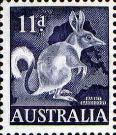Bandicoot 11d.  Issued May 1961.