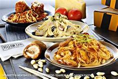 delicious and mouth watering pasta from Yellow Cab Pizza Co.