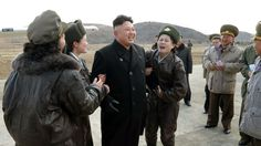 Kim Jong-un and the funny girls