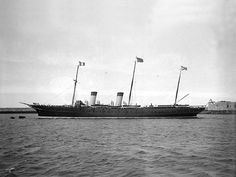 The Standart - Nicholas and his family used this Imperial yacht for their annual summer holiday, to meet other monarchs in their countries, and sometimes moored in the water for secret meetings, etc.