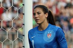 Hope Solo. (Paul Rudderow/The Philly Soccer Page)