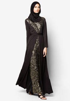 Zalia High Collar Regal Lace Dress I Beli di ZALORA Indonesia ®