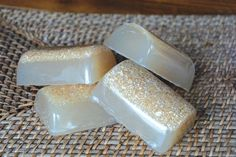 Home Made Bath Salt Soap
